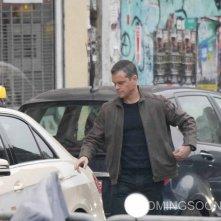 Jason Bourne: Matt Damon durante le riprese