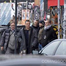 Jason Bourne: Matt Damon sul set del film