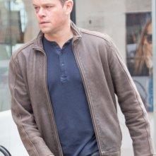 Jason Bourne: Matt Damon in una foto scattata sul set