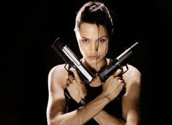 Angelina Jolie in Lara Croft: Tomb Raider