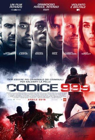 Codice 999 - il poster italiano del film