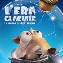 L'era glaciale: In rotta di collisione, un poster del film animato