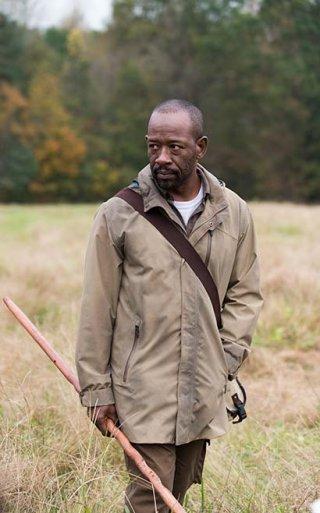 The Walking Dead: Lennie James interpreta Morgan nella puntata East