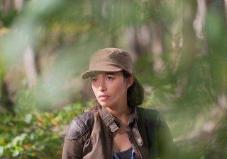 The Walking Dead: Christian Serratos interpreta Rick nell'episodio East