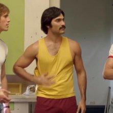 Tutti vogliono qualcosa: Blake Jenner, Ryan Guzman e Tyler Hoechlin in una scena del film