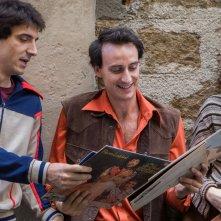 L'Universale: Francesco Turbanti, Robin Mugnaini e Matilda Anna Ingrid Lutz in una scena del film