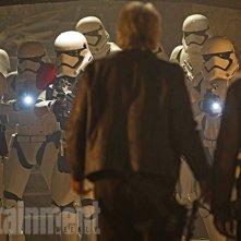 Star Wars: Il Risveglio della Forza - La foto di una scena tagliata dal montaggio finale