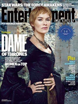 Il trono di Spade 6: Lena Headey sulla cover di Entertainment Weekly