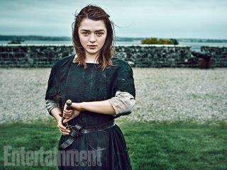 Il trono di spade: Maisie Williams in un ritratto realizzato per Entertainment Weekly