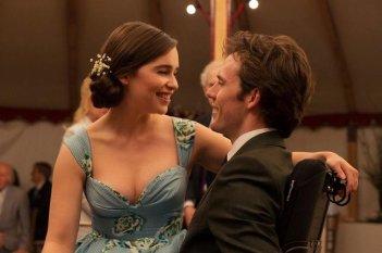 Io prima di te: Sam Claflin ed Emilia Clarke in una scena del film