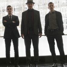 Now You See Me 2: Dave Franco, Woody Harrelson e Jesse Eisenberg in un'immagine promozionale