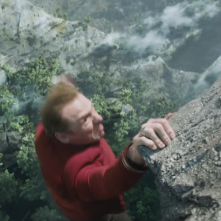 Star Trek Beyond: Simon Pegg in una scena del film