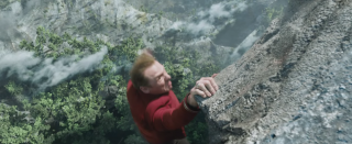 Star Trek Beyond: Simon Pegg in una scena del film