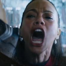 Star Trek Beyond: Zoe Saldana in una scena del film