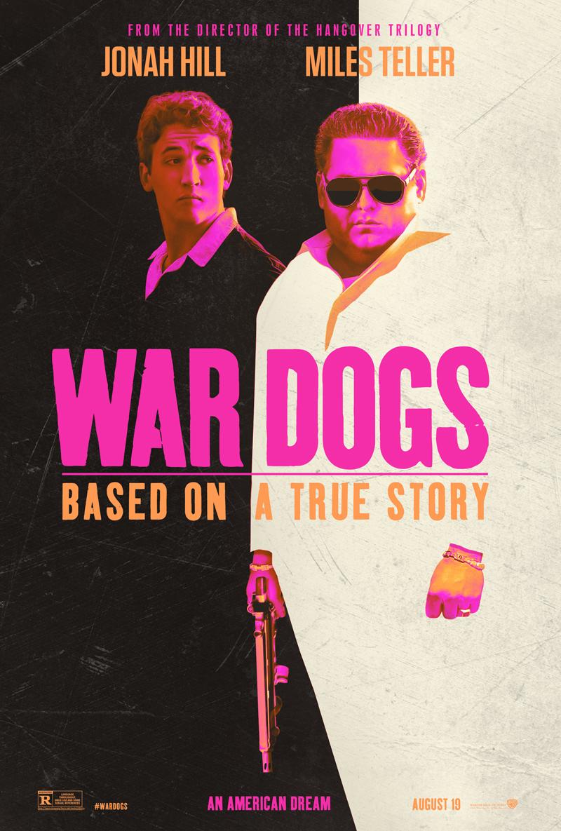 War Dogs: la locandina del film