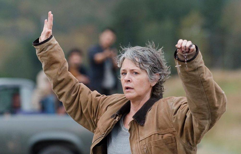 The Walking Dead, Melissa McBride nell' episodio 6x15 Il cerchio