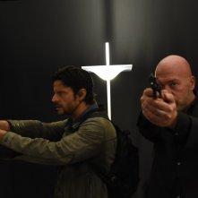 Fuoco amico TF45 - Eroe per amore: Andrea Sartoretti e Giuseppe Loncosole in una scena della serie drammatica