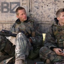 Generation Kill: una scena della serie con Alexander Skarsgard