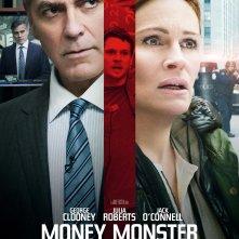 Money Monster - L'altra faccia del denaro: la locandina italiana