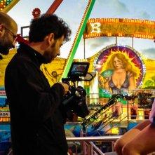 Wax: We are the X, il regista Lorenzo Corvino in azione sul set