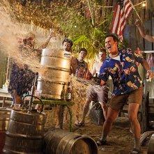 Ash vs. Evil Dead: Bruce Campbell a un party nella prima foto della seconda stagione