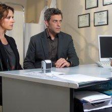L'aquilone di Claudio: Massimo Poggio e Irene Ferri in una scena del film