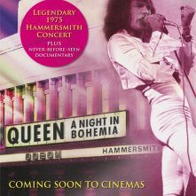Locandina di Queen: A Night in Bohemia