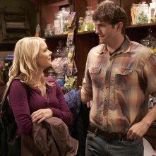 The Ranch: l'attrice Kelli Goss insieme al protagonista Ashton Kutcher