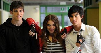 Un bacio, il trio di giovani protagonisti del film di Ivan Cotroneo