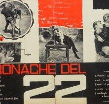 Locandina di Cronache del '22