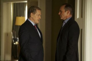 Agents of S.H.I.E.L.D.: gli attori William Sadler e Clark Gregg in Bouncing Back