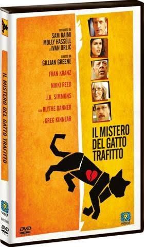 La cover del DVD de Il mistero del gatto trafitto