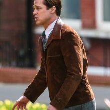 Five seconds of silence: Brad Pitt sul set del film