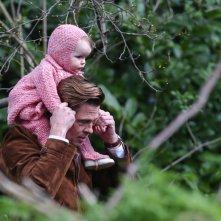 Five seconds of silence: Brad Pitt durante le riprese sul set