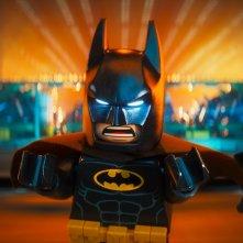 Lego Batman - Il film: Batman in azione in una scena del film animato