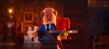 Lego Batman - Il film: Alfred in un momento del film animato