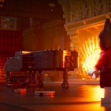 Lego Batman - Il film: Alfred e Batman in un momento del film animato