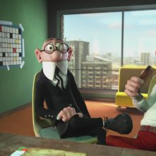 Mortadello e Polpetta contro Jimmy lo Sguercio: un'immagine del film d'animazione