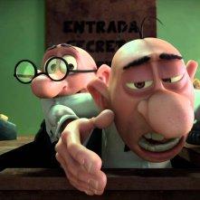 Mortadello e Polpetta contro Jimmy lo Sguercio: un momento del film d'animazione