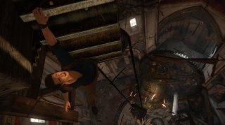 Uncharted 4: Una scena del gioco Naughty Dog