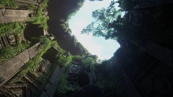 Uncharted 4: una scena del videogioco