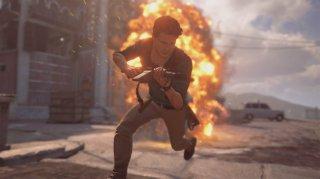 Uncharted 4: un momento del gioco