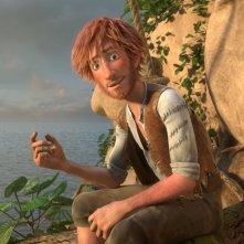 Robinson Crusoe: un'immagine tratta dal film d'animazione