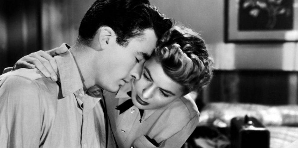 Gregory Peck e Ingrid Bergman in Io ti salverò