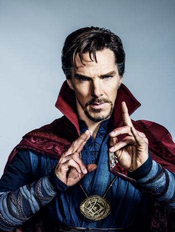 Doctor Strange: una foto di Benedict Cumberbatch