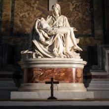 San Pietro e le Basiliche Papali di Roma 3D: la Pietà di Michelangelo in una scena del documentario