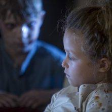 The Other Side of the Door: Sofia Rosinsky e Logan Creran in una scena del film