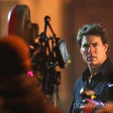 The Mummy: Tom Cruise durante la lavorazione del film