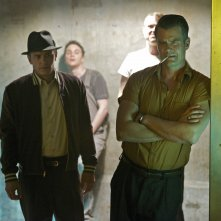 11.22.63: gli attori Josh Duhamel e James Franco in una foto della serie