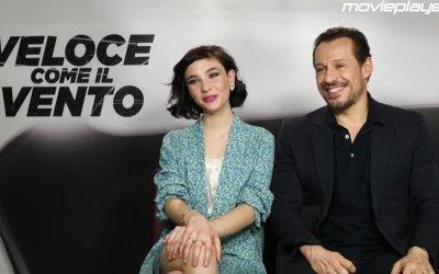 Veloce come il vento: Video-intervista a Matilda De Angelis e Stefano Accorsi